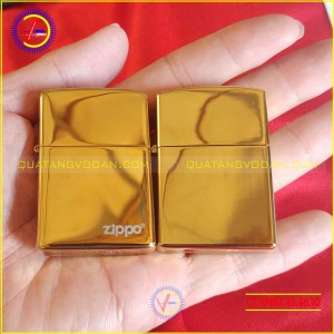 Zippo vàng bóng loại 1