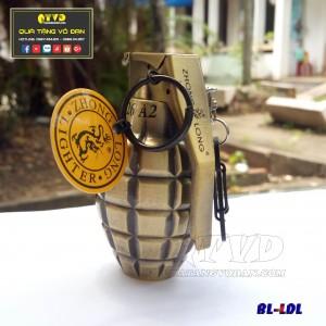 Bật lửa quẹt   hình lựu đạn lớn