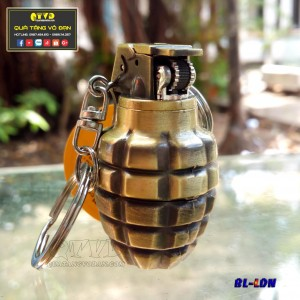Bật lửa quẹt  hình lựu đạn nhỏ