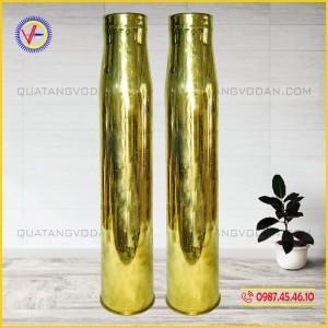 Vỏ đạn pháo 100 mm (100 ly) đánh bóng