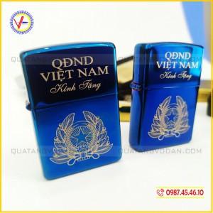 Bật lửa zippo Quân đội nhân dân Việt Nam