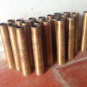 Vỏ đạn pháo 37ly đồng