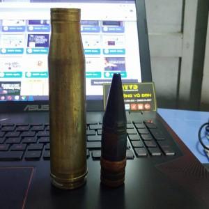 Vỏ đạn pháo 23 ly đồng