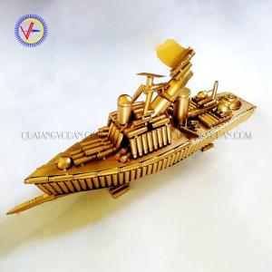 Tàu chiến bằng vỏ đạn mau 1