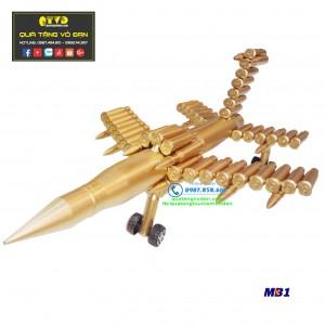 Máy bay làm bằng vỏ đạn 23 ly (loại lớn)