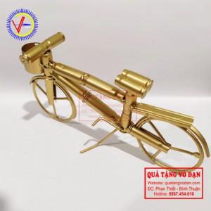 Xe đạp vỏ đạn cực kỳ dễ thương