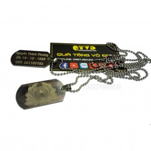 Thẻ bài dogtag - Thẻ tên quân đội, thẻ bài lính