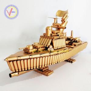 Tàu chiến bằng vỏ đạn (Mẫu 02)