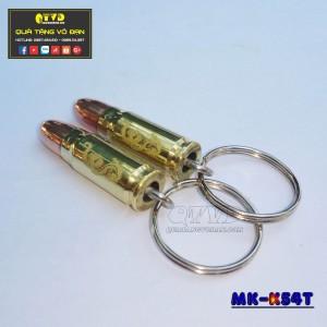 Móc khóa vỏ đạn K54 đầu tròn (zin)