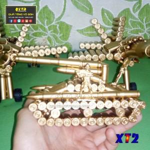 Xe tăng bằng vỏ đạn K54